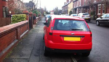New ban to kerb pavement parking