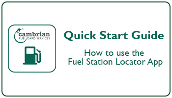 How to use the Fuel Station Locator App