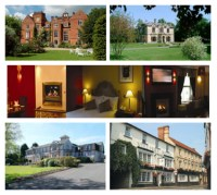 picturesque views of hotels
