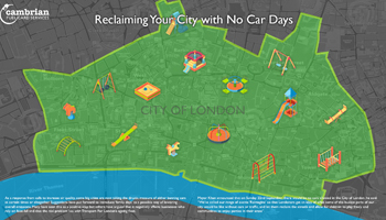 Reclaiming Your City with No Car Days – Infographic