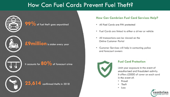 How Can Fuel Cards Prevent Fuel Theft? – Infographic