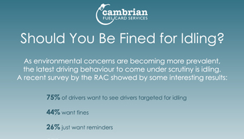 Should You Be Fined for Idling? – Infographic