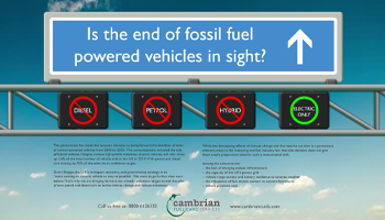 Is the end of fossil fuel powered vehicles in sight? – Infographic