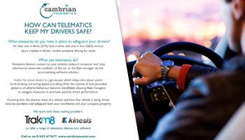 How Can Telematics Keep My Drivers Safe? – Infographic