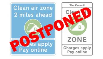 Clean Air Zones Postponed until 2021