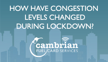 How Have Congestion Levels Changed During Lockdown? – Infographic