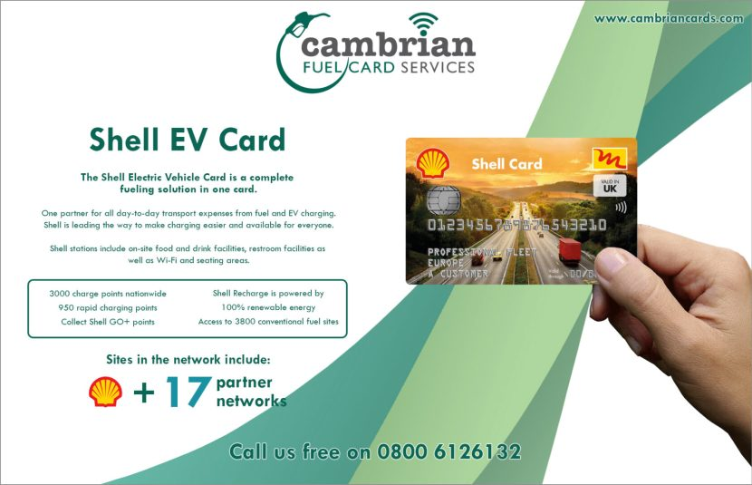 shell ev card infographic