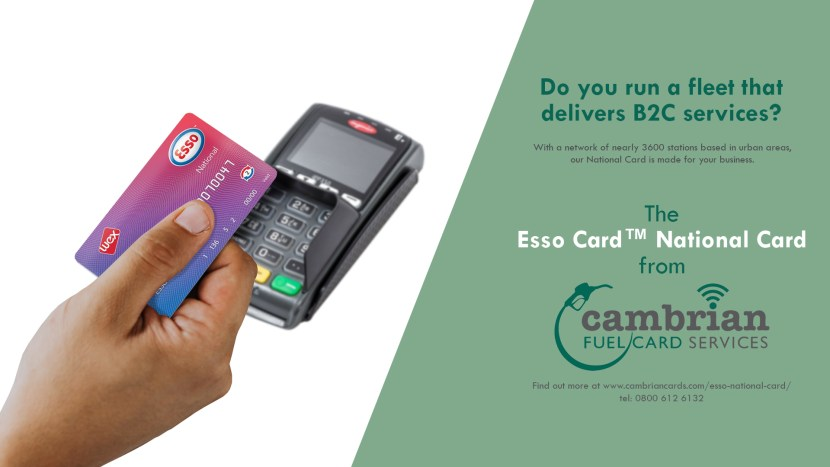esso national card advert