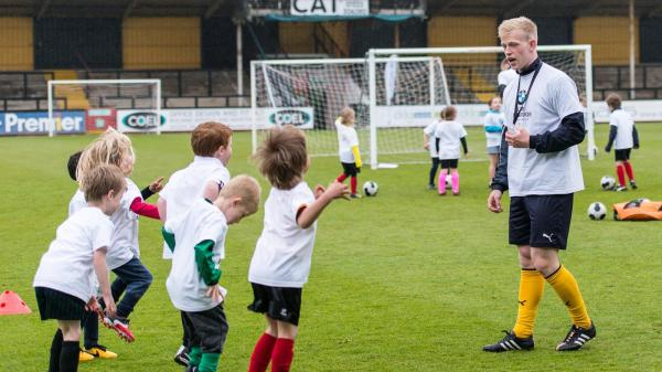 SOCCER SCHOOL ON THE PITCH - News - Cambridge United