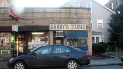 Photo of Sandy's music, from Cambridge Day