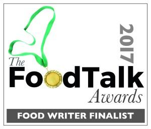 Food Talk Awards Food writer finalist
