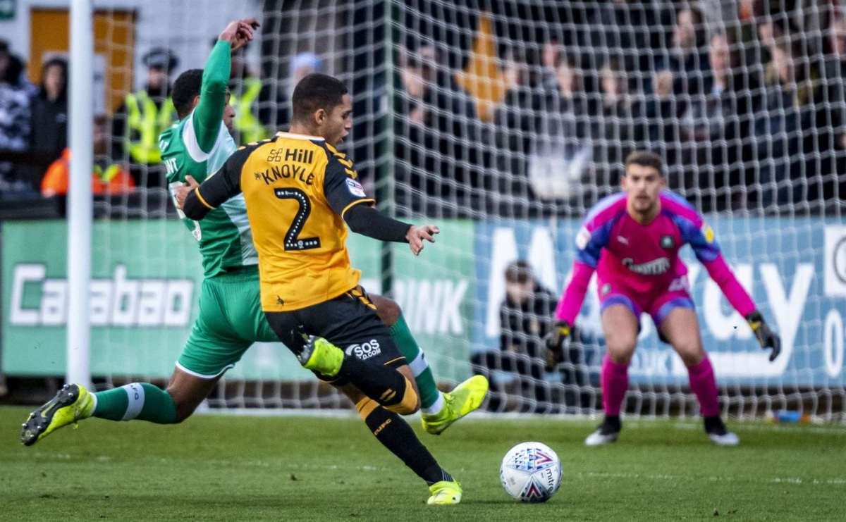 Kyle Knoyle breaks duck to give Cambridge United 'satisfying' win over  Plymouth Argyle in Sky Bet League Two