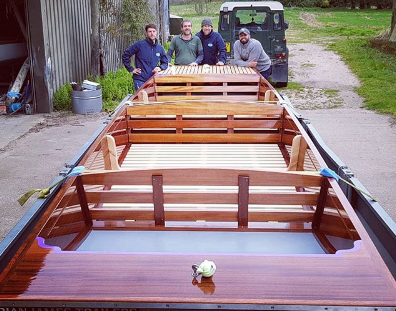 Cambridge Punt Company handcrafted punts