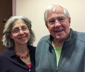 Director Laurie Rothstein and CSVC Board Chair, Bob Hurlbut.