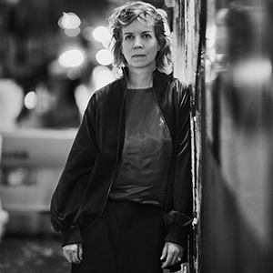 Katharina Grosse. Photograph: Max Vadukul