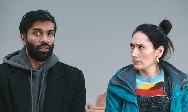 Nikesh Patel and Sian Clifford