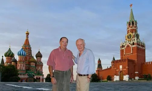 Tom & Mac in Red Square1