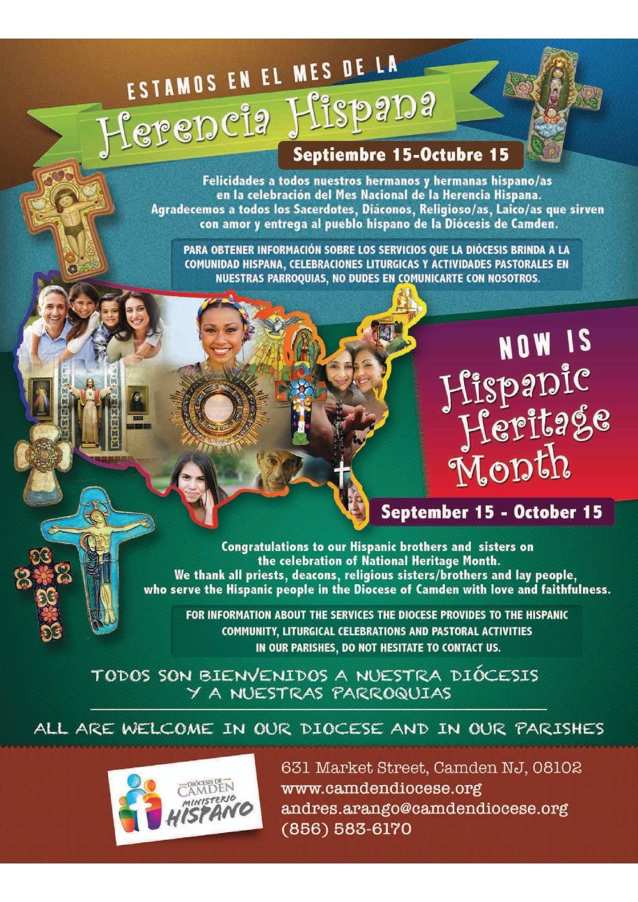 Herencia Hispana Diocese Of Camden