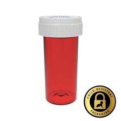 Red Reversible Cap Vials 40 Dram