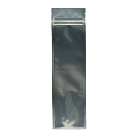 syringe mylar bag black clear