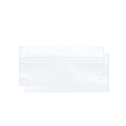White Mylar Smell Proof Bags for Pre-Roll