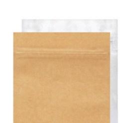 Kraft/Clear Bags