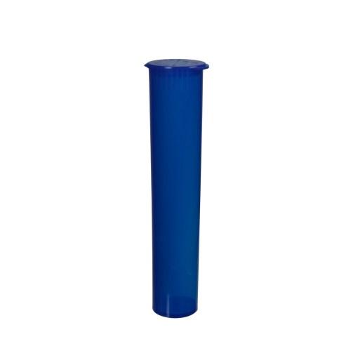 95mm Translucent Blue - Child-Resistant Pre-Roll Tubes