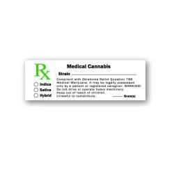Medical Cannabis Labels Oklahoma