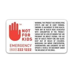 Compliant Label Symbol w/ Warning Washington