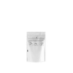 Dymapak 1/8 Ounce Child Resistant White Clear Bags