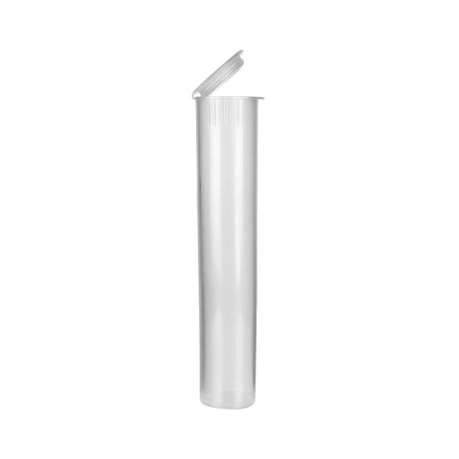 Translucent Clear Pre-Roll Tubes 98 mm