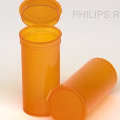 13 Dram Translucent Amber PHILIPS RX® Pop Top Containers