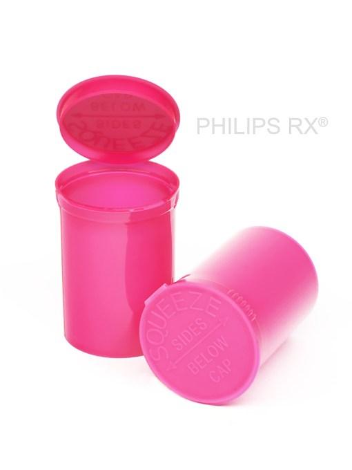 30 Dram Opaque Bubblegum PHILIPS RX® Pop Top Containers
