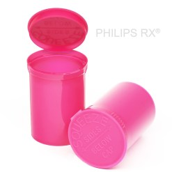 30 Dram Opaque Bubblegum PHILIPS RX® Pop Top Containers