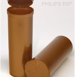 30 Dram Opaque Gold PHILIPS RX® Pop Top Containers