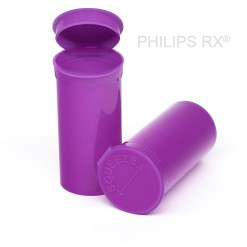 13 Dram Opaque Grape PHILIPS RX® Pop Top Containers