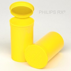 19 Dram Opaque Lemon PHILIPS RX® Pop Top Containers