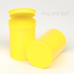30 Dram Opaque Lemon PHILIPS RX® Pop Top Containers
