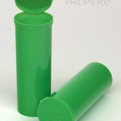 60 Dram Opaque Lime PHILIPS RX® Pop Top Containers