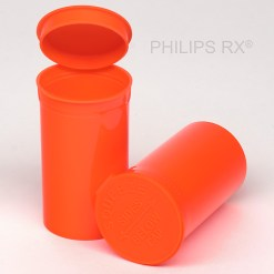 19 Dram Opaque Mango PHILIPS RX® Pop Top Containers