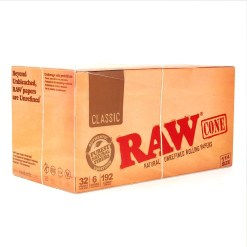 """84 mm RAW Pre-Rolled Cones 1 1/4"""""""