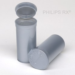 13 Dram Opaque Silver PHILIPS RX® Pop Top Containers