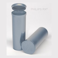 60 Dram Opaque Silver PHILIPS RX® Pop Top Containers