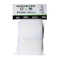 "2"" x 4"" 120 Micron Monster Dab Rosin Bag"