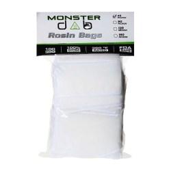"2"" x 4"" 45 Micron Monster Dab Rosin Bag"