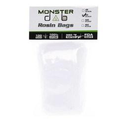 "3"" x 6"" 90 Micron Monster Dab Rosin Bag"