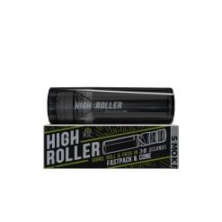 High Roller Grinder and 84mm Cone Filler Smoke