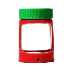 Stash Magnifying LED Jar Rasta