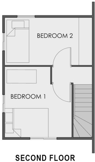 camella homes mika second floor plan