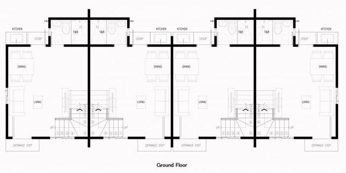 brielle townhouse ground floor plan